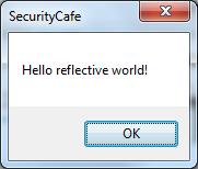 Reflective DLL messagebox