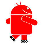 Android red logo